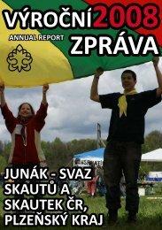 Výroční zpráva Junáka - Plzeňského kraje 2008 - kraj šesti řek