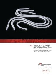 Track Record Brochure - Gore Medical