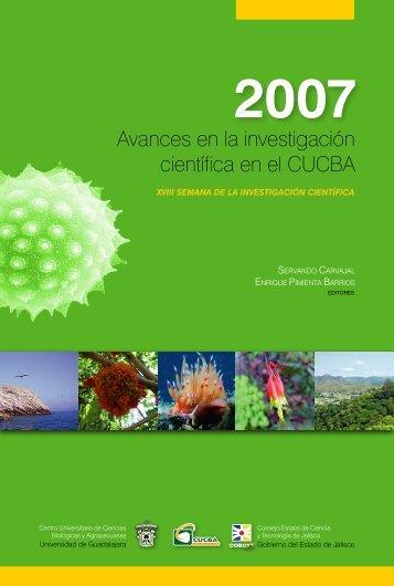 Avances en la investigación científica en el CUCBA - Centro ...