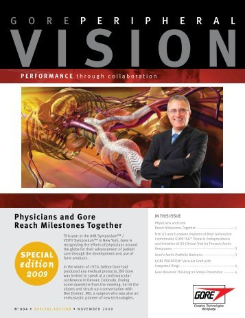 Peripheral Vision Newsletter - Gore Medical