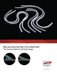 Hemodynamic Flow Brochure - Gore Medical