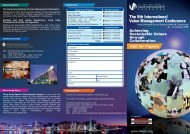 The 9th International Value Management Conference - Hong Kong ...