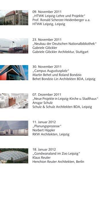 09. November 2011 - BDA Sachsen - Bund Deutscher Architekten ...