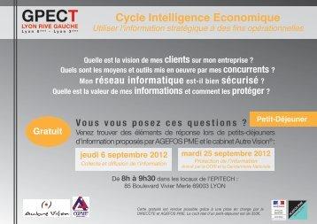 Cycle Intelligence Economique