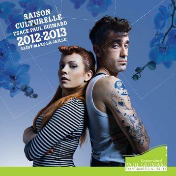 Programme de la saison culturelle 2012-2013 Espace