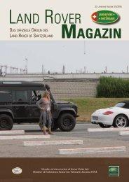 Land Rover Magazin