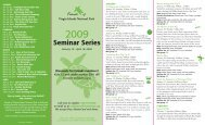 Seminar Brochure - News of St. John