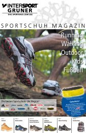 Running Walking Outdoor Kids Fußball - Intersport Gruner