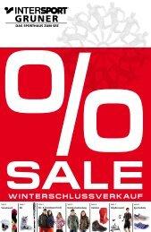 60% jetzt bis zu rEduziErt! -  Intersport Gruner