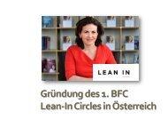 Gründung des 1. BFC Lean-In Circles in Österreich