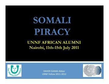 3. Somali piracy structure