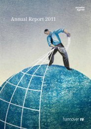 Annual Report 2011 - Hannover Re