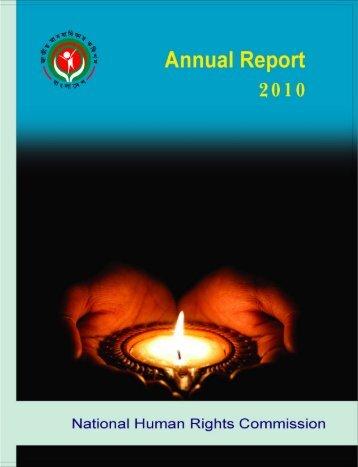 Annual R e p 0 rt - NHRC Bangladesh