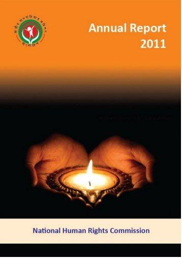 Annual Report 2011.pdf - NHRC Bangladesh