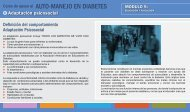 AUTO-MANEJO EN DIABETES - Aula Virtual Regional. Campus ...