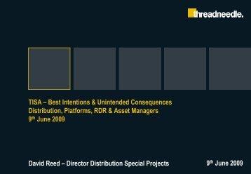 Threadneedle PowerPoint template Revised April 2009 - TISA