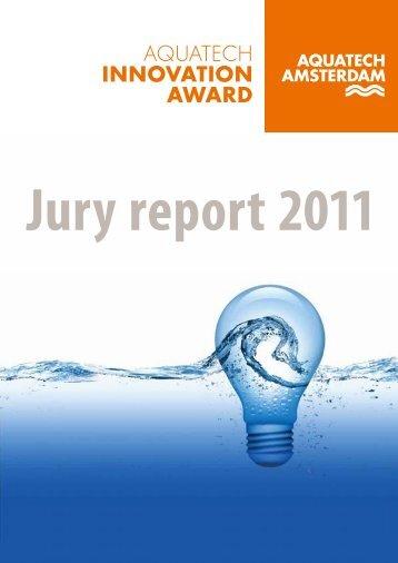 JuryrapportAquatech2011_web - Aquatechtrade