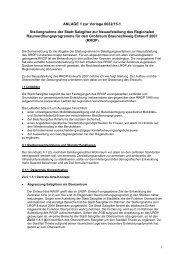 1 ANLAGE 1 zur Vorlage 0632/15-1 Stellungnahme der Stadt ...