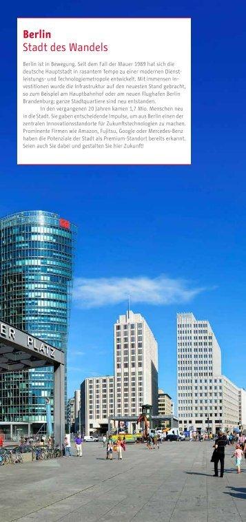 Berlin Stadt des Wandels - Business Location Center