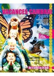 vacancesacambrai2012 - Ville de Cambrai.com