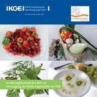 Ernährungskonzept der KGE zur Versorgung der Kindertagesstätte ...