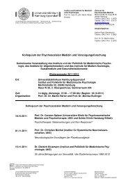 Forschungskolloquium WiSe 2011-12_Final - Universitätsklinikum ...