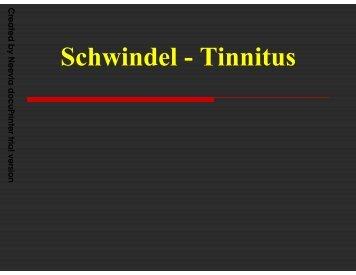 Schwindel -Tinnitus – UKE