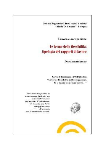 tipologia dei rapporti di lavoro - Giorgio Trenti