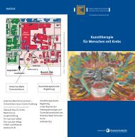 Kunsttherapie für Menschen mit Krebs - Universitätsklinikum ...
