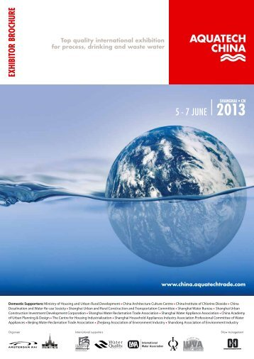 Download the exhibitor brochure (PDF) - Aquatechtrade