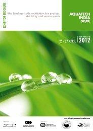 Brochure_AquatechIndia2012 - Aquatechtrade