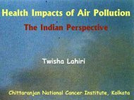Health Impacts of Air Pollution - Rainwater Harvesting