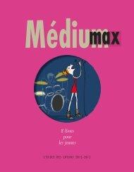 Médium max - L'Ecole des loisirs
