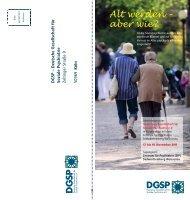 DGSP Jahrestagung 2011 - Sächsische Gesellschaft für Soziale ...