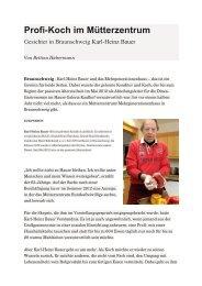 Karl Heinz Bauer, Mehrgenerationenhaus/Mütterzentrum