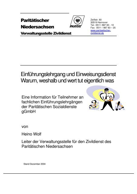 ELG EwD Info ZDL.dot - Paritaetischer-freiwillige.de