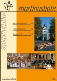 Untitled - Katholische Kirchengemeinde St. Martinus Niederpleis