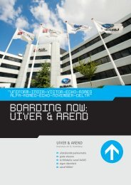 BOARDING NOW: UIVER & AREND - NL Real Estate