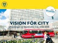 Ny vision för framtidens City
