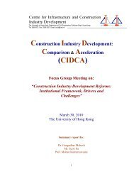 Focus group Summary-1 - Department of Civil Engineering - The ...