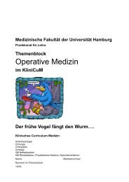 Operative Medizin - Universitätsklinikum Hamburg-Eppendorf