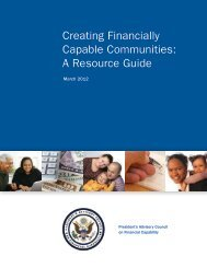 Local Guide - Creating Financially Capable Communities