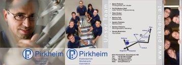 www .pirkheim.at Unser T eam