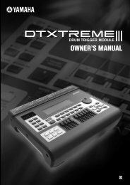 DTXTREME III Owner's manual - zzounds.com