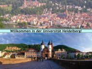 und Sozialwissenschaften - Ruprecht-Karls-Universität Heidelberg