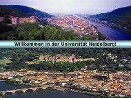 Studieninformationstag 2009 - Ruprecht-Karls-Universität Heidelberg
