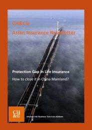 Asian Insurance Newsletter – January 2012 - Chappuis Halder & Cie