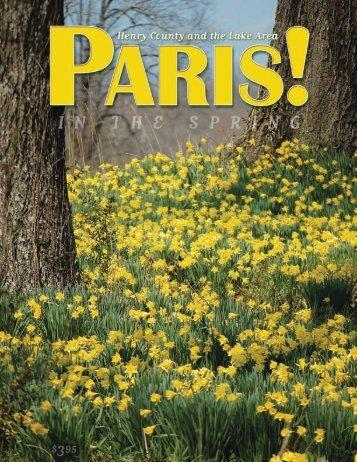 Spring 2009 - Paris! Magazine/MyParisMagazine.com