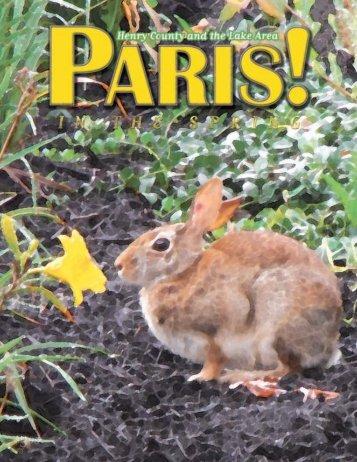Spring 2011 - Paris! Magazine/MyParisMagazine.com