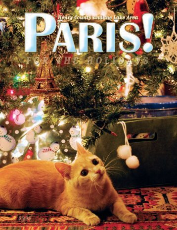 Holiday 2010 - PARIS! Magazine